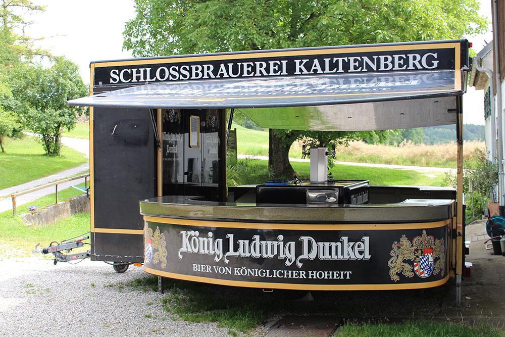 Vermietung mobile Bierwagen